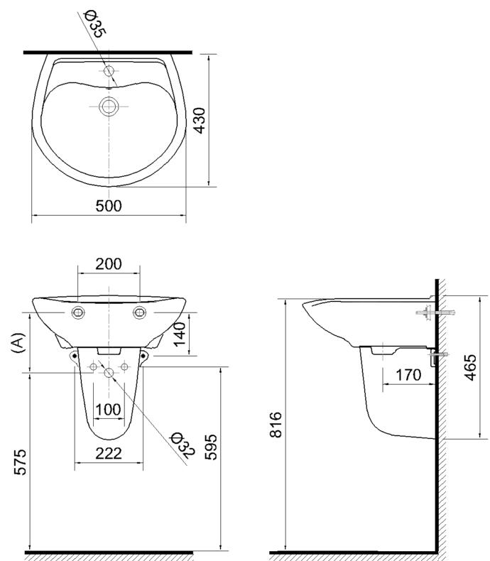 Kích thước lavabo chuẩn cho nhiều căn hộ